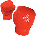 Red Boxing Glove Stress Balls